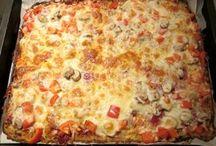 pizza zonder meel