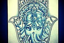 Tatuagens Hippie
