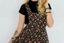 Look // vestido com blusa