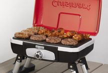 Grillin' with Style / Summer is the perfect time to fire up the grill and have some friends and family over. This board has everything from the perfect grill to the perfect chef attire!