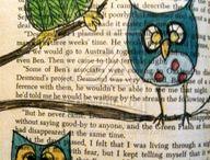 рисунок на книжной странице