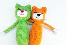 My amigurumi toys