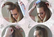 Hair / Hair and hair tips