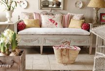 cottage style / by Shirley Wendlandt