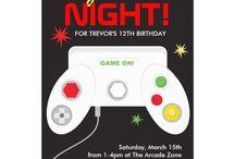 Video Game Birthday / by Heather Hotta
