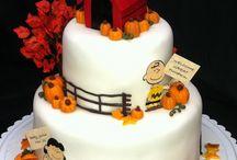 Snoopy's cakes