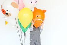Animal balloons