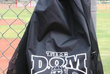 The DOM Softball Baseball  Bags / The DOM bags