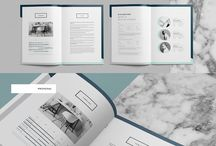 / Brochure layouts