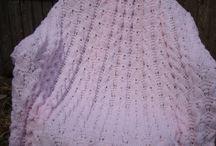 Knit Blanket  babygirl / by designbyelena