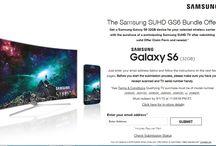 با خرید هر تلویزیون SUHD یک گلکسی اس ۶ به رایگان بگیرید / اگر در آمریکا زندگی می کنید و به دنبال خرید یک تلویزیون جدید و یا ارتقای تلویزیون هستید، سامسونگ پیشنهاد ما به شماست. سامسونگ پیشنهاد جدیدی در آمریکا ارائه داده است و آن هم این است که با خرید هر دستگاه تلویزیون SUHD یا سوپر الترا اچ دی سامسونگ با کیفیت صفحه ی ۴K، یک عدد گوشی هوشمند گلکسی اس ۶ مدل ۳۲ گیگابایتی دریافت کنید. http://phonezone.ir/?p=1651