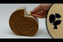 Wooden kinetic