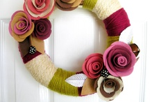 Crafts - Wreaths / by Nicole Shannon