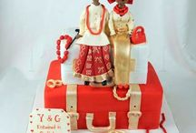 Nigerian wedding cakes / Nigerian culture diplayed in cakes for Nigerian traditional engagements and weddings