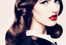 Vintage/pinup look/ style / by Shelly Hughes