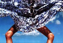 Fashion editorial beachlook