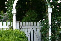 Rose Arbor garden  - gates