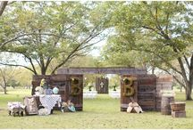 Ceremony decor inspiration / These are things that inspire me to add to our lovely Ceremony area