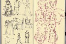 tekeningen / streetart