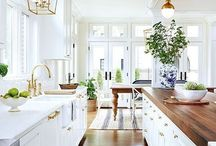 french country modern- kitchen