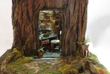 Miniature Diorama tale / tree tale