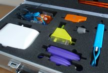 Foam For Transporter Cases / Die Cut foam to fit transporter cases. Foam cut outs created for any shape to securely hold items in place whilst on the move.