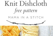 Home Knits / Free and paid knitting patterns for your home