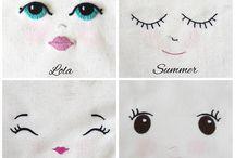 Wyszywane oczy