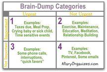 Brain dump planning