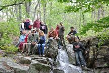 Pine Mountain Park / Experience Pine Mountain Trails Rattan, OK, United States 74562 Over 1,700 acres of nature and trails, Beautiful rock formations, forests and creeks.