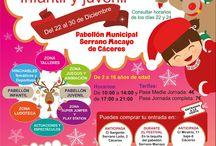 II FESTIVAL DE NAVIDAD / VOLVEMOS CON EL II FESTIVAL DE NAVIDAD  De ocio Infantil y Juvenil. Del 22 al 30 de Diciembre de 2015  Horario de Mañana y Tarde.