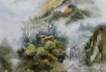 landscap painting / by Nehal Al Bhereiry