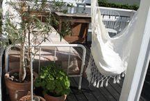 Avslapping på verandaen