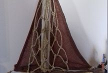 Driftwood art collection