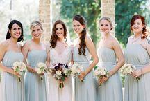 Trouwen // bruidsmeisjes