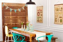 Vintage Dining Room Ideas / From Vintage Unscripted