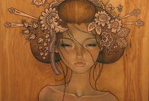 Audrey Kawasaki's art