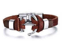 Trendy Anker Armband in Braun+ Echtes Leder +Neu+ 12,90 Euro
