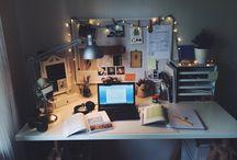 Mesas de estudo, trabalho etc.