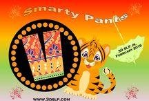 February 2016 3D SLP Jr: Smarty Pants