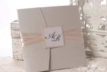 Lucy Grey / wedding invitation by Erika Velsicz