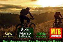 Recreativas MTB Marzo 2015 / Eventos de Ciclismo MTB Recrativo para Marzo 2015