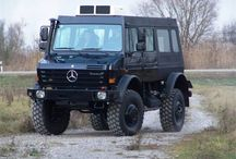 Mercedes-Benz Unimog. The ultimate off road vehicle.