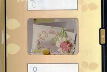 kaarten borduren met patroon