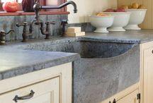 Susan kitchen board / Sink