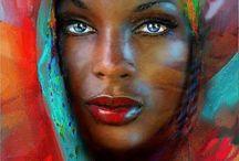 Kadın yüzü