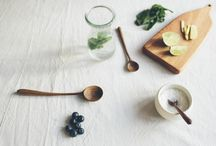 WOODEN OBJECTS / Beautifully crafted wooden objects. Including wooden spoons, spatulas, butter dishes, chopping boards, servings boards, wooden scoops and more...
