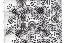 černobílý ornament 6