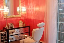 Salon makeover ideas / by Angie Hundley