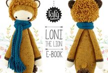 Crochet: Laly lala / Crochet patterns from the famous Lalylala series - Free modifications - paid crochet patterns - lalylala crochet patterns - lalylala amigurumi